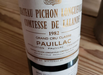 An Embarrassment of Riches: Wines from 1982