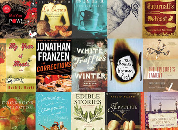 These are a Few of our Favorite Things:  Foodie Books