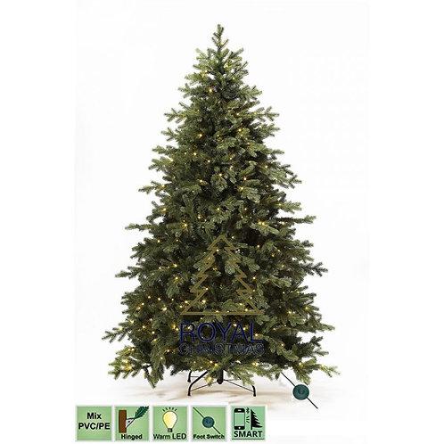 Kerstboom Spitsbergen LED 360