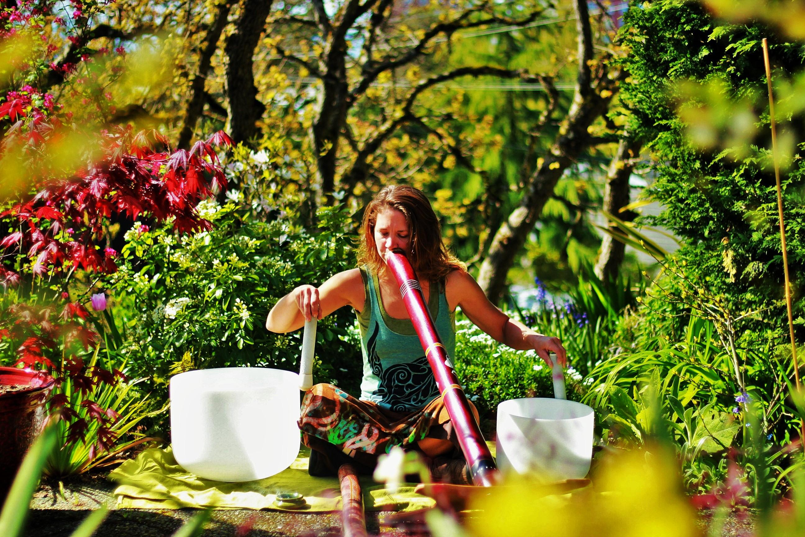 Sound Healing in Gardens