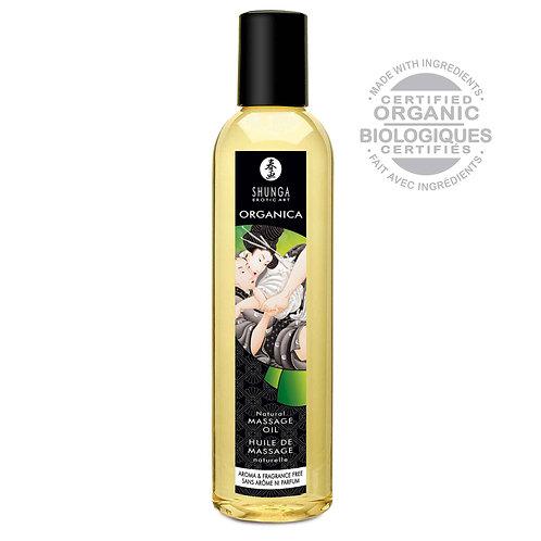 Huile de Massage Organique Bio 250 ml Shunga