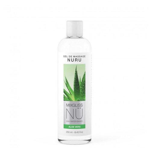 Lubrifiant & Massage gamme eau MixGliss Nü Aloe Vera 150 ml