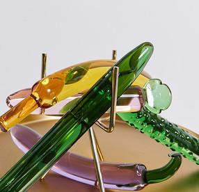 Dildo en verre : oeuvre d'art et de plaisir !