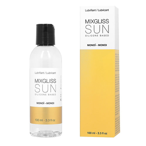 Lubrifiant MixGliss Silicone Sun Monoï 100 ml