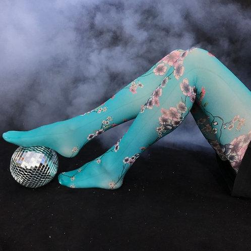 Collant Mariette Bleu