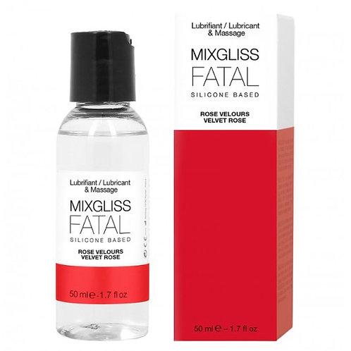Lubrifiant MixGliss Silicone Fatal Rose Velours 50 ml