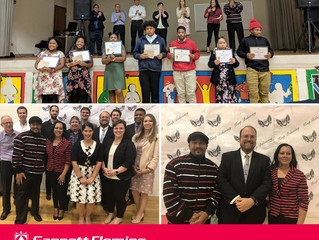 "Fall 2018 Graduates of ""Develop Habits of Greatness""  November 08, 2018"