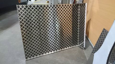 Laser Cut Metal Sheet