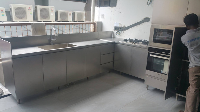 Stainless Steel Kitchen Systems