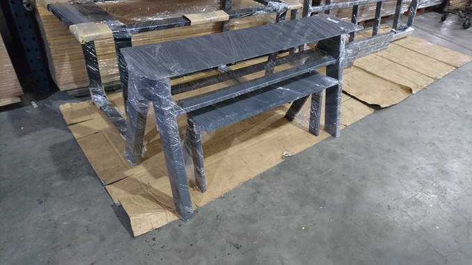 Customised Table and Bench