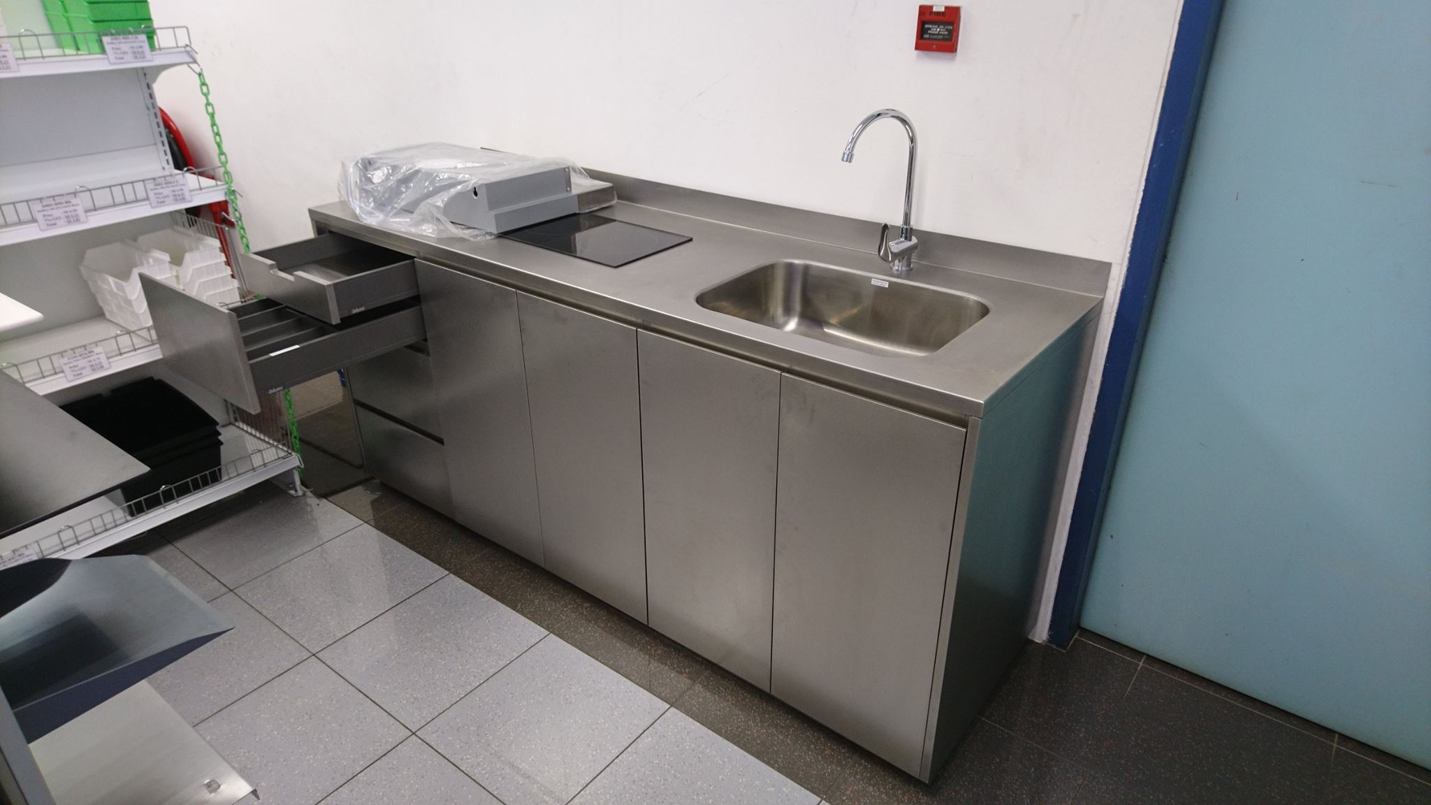 Stainless Steel Kitchen System Custom Fabrications