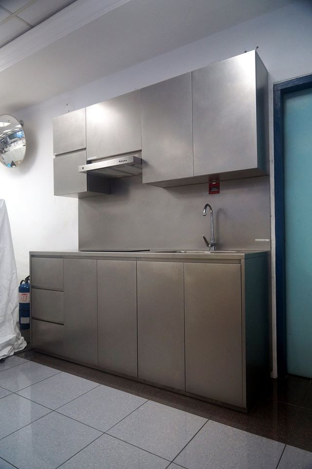 Stainless Steel Kitchen System