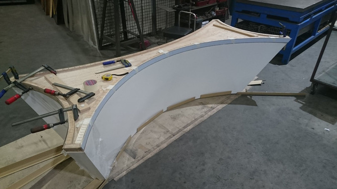 Curved Stainless Steel Skirting
