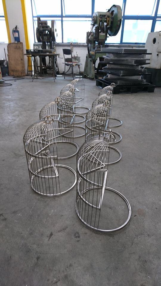 Decorative Stainless Steel Bird Cage