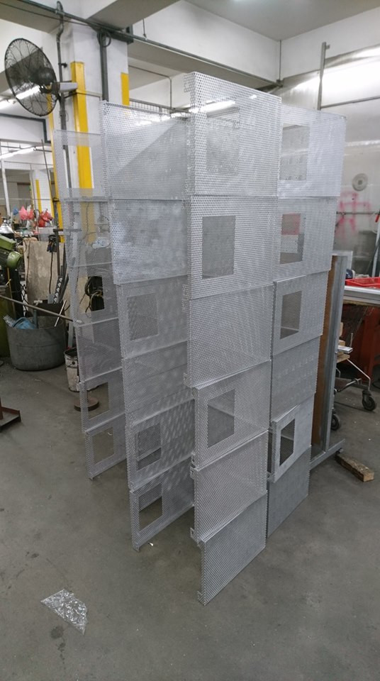 Customised Perforated Sheets