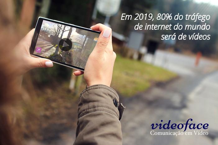 80% do tráfego de internet do mundo será vídeos, em 2019