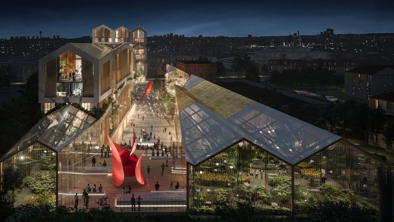 Enclosions   Linkcity, Bouyrgues Immobilier, Lina Ghotmeh Architecture
