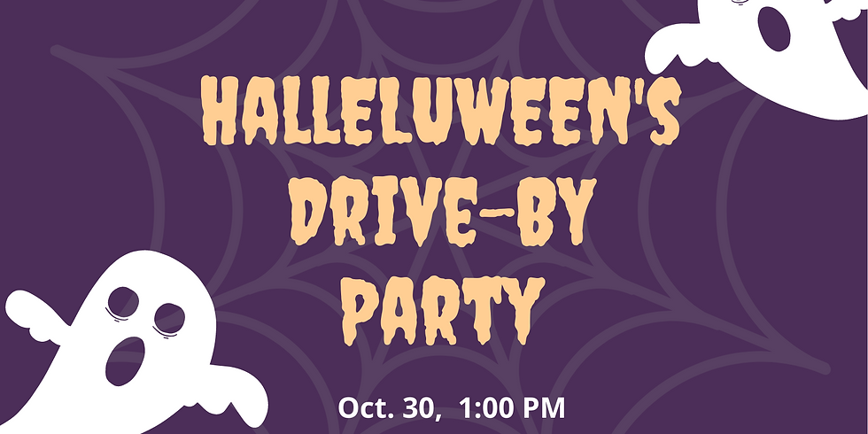 Halleluween's Drive-By Party!