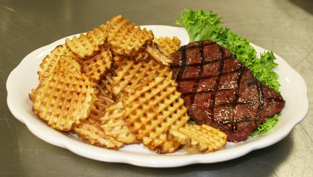 Steak & Waffle Fries