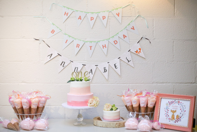 One Year Old Cake Table