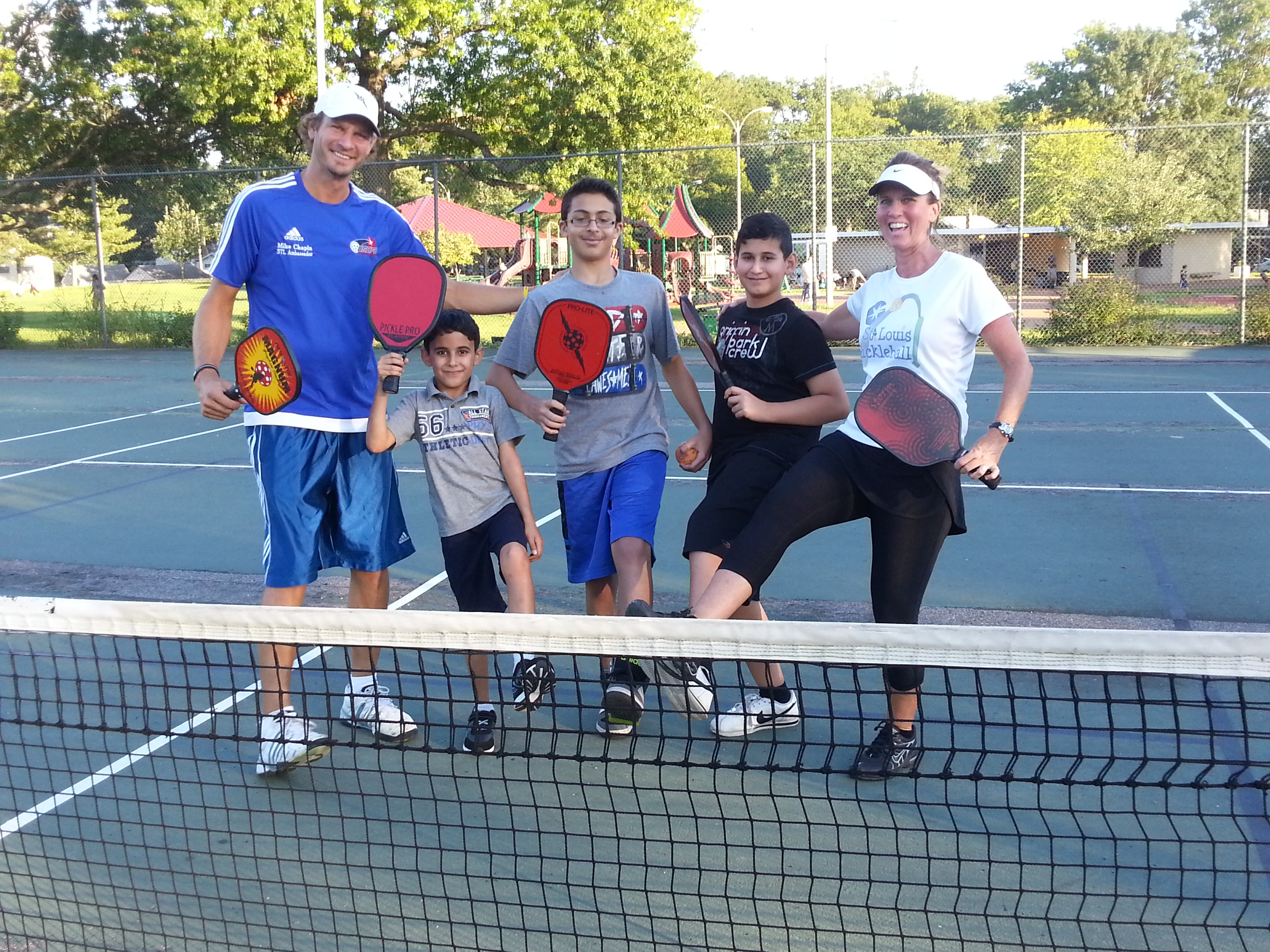 Step up and play some Pickleball!