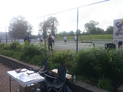 Great to have play on unused tennis