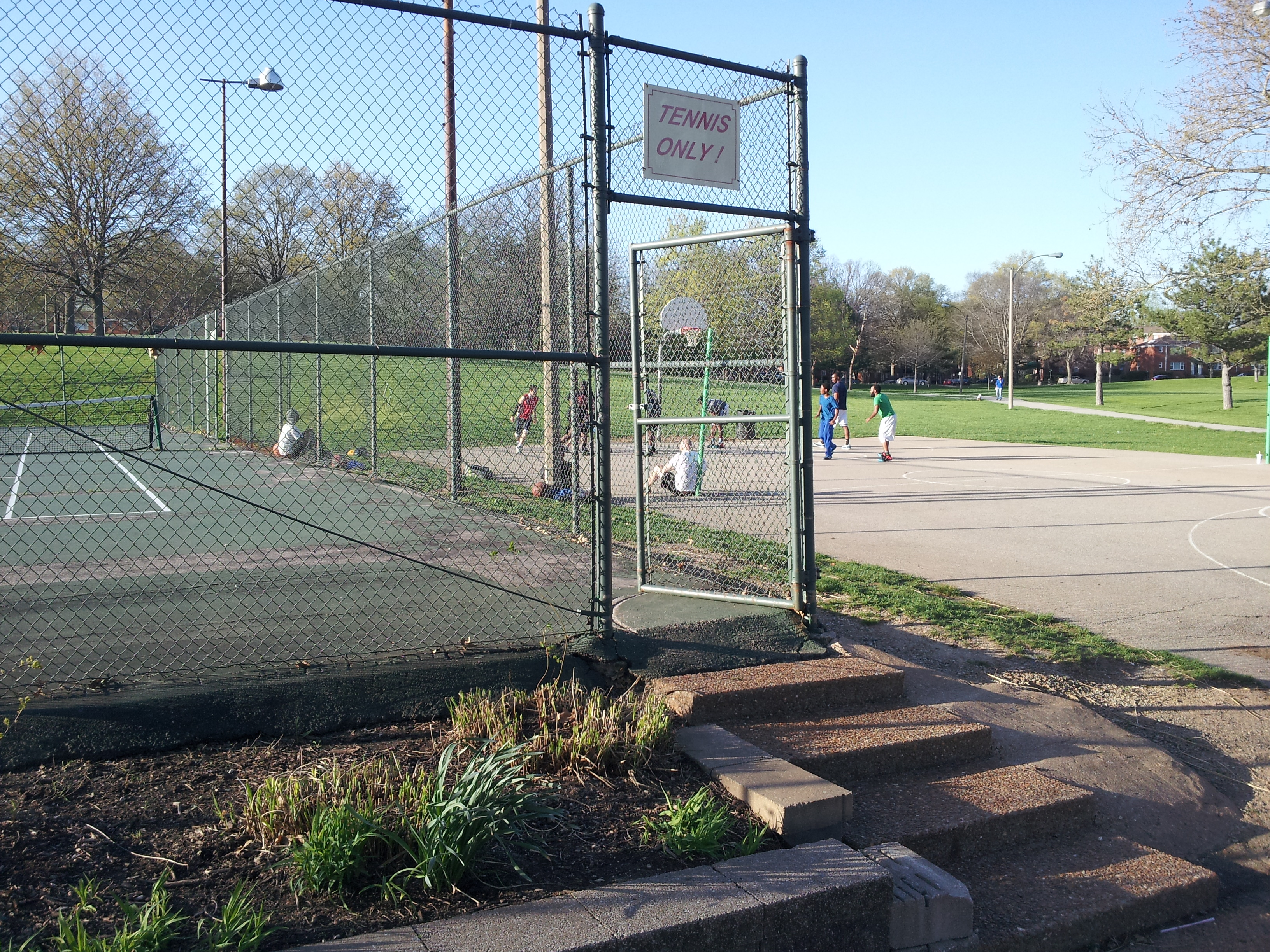 Tilles Park Tennis Court Conversion