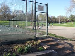 Tilles Park Tennis Court Conversion