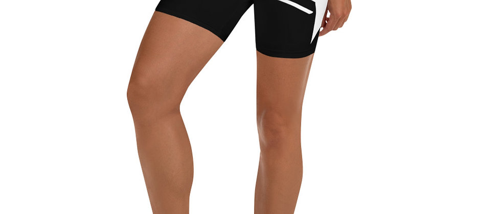 Monochrome Yoga Shorts