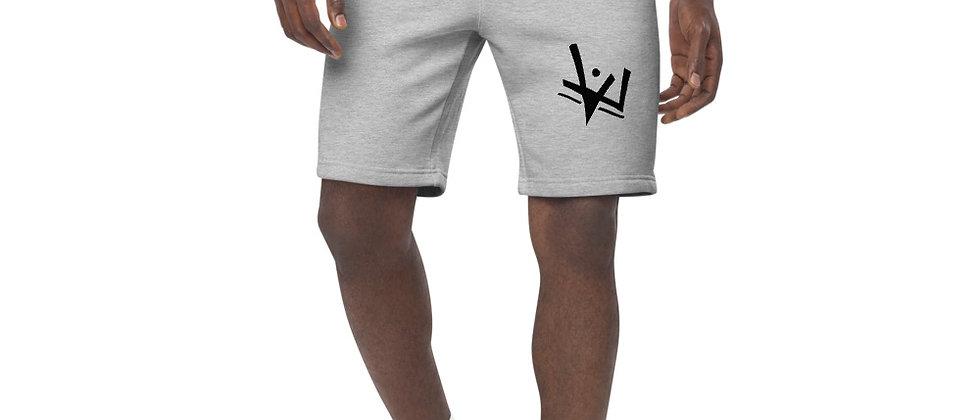Monochrome Men's fleece shorts