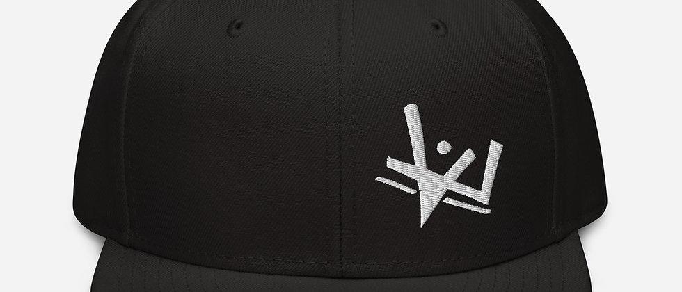 Monochrome Snapback Hat