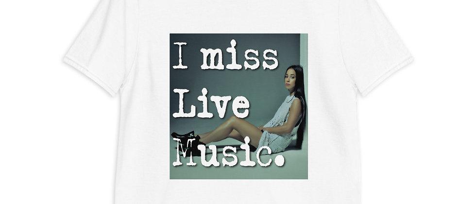 I Miss Live Music Tee