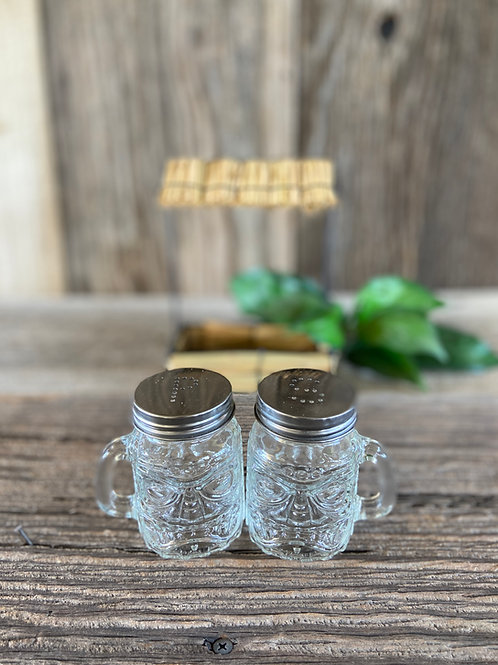 Tiki Hut Salt & Pepper Shaker Set