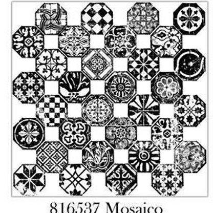 Mosaico Decor Stamp, IOD 1st Gen