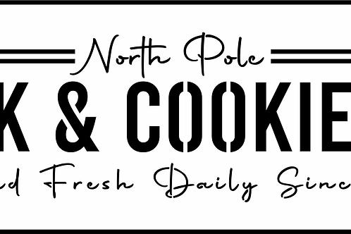 Milk & Cookies, JRV Stencil