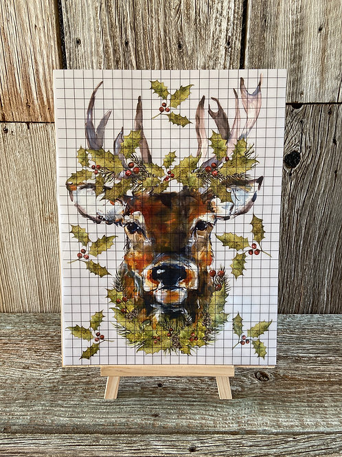 1st Day of a Woodland Christmas FB Video Workshop: Art Board, Transfer,  & Easel