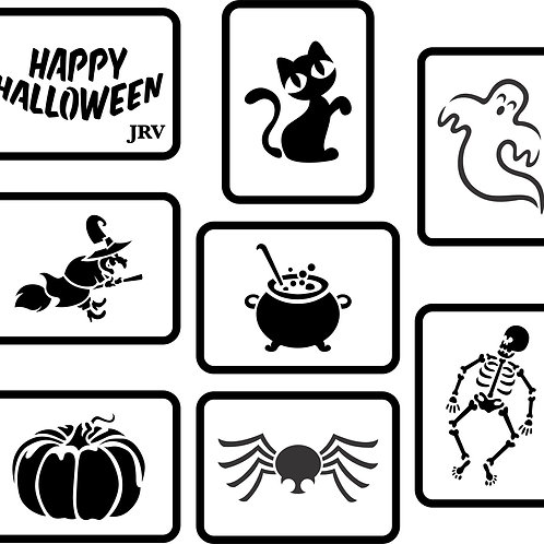 Halloween Mini Set, JRV Stencil