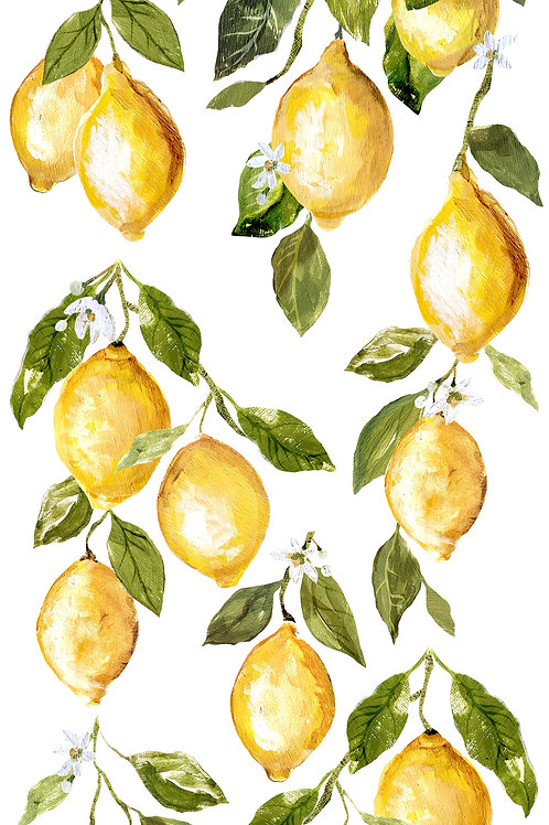 "Lemon Drops, 12"" x 33"""