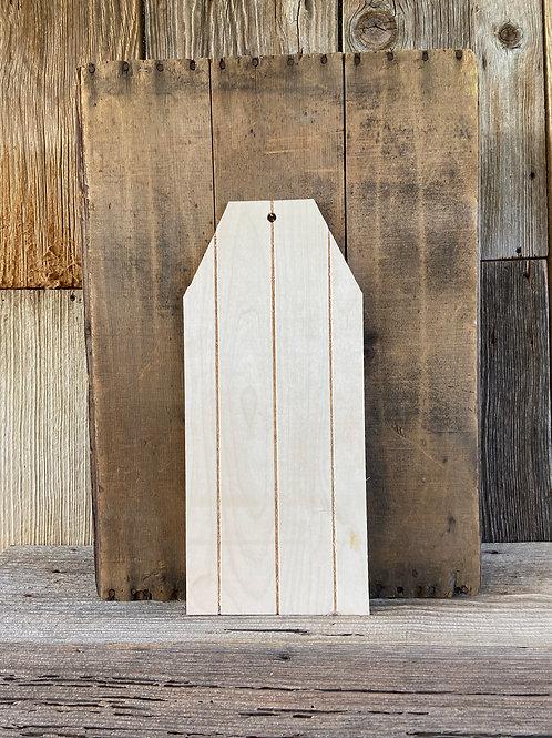 """Faux Pallet Wooden Door Hanger, 18"""" Made in USA"""