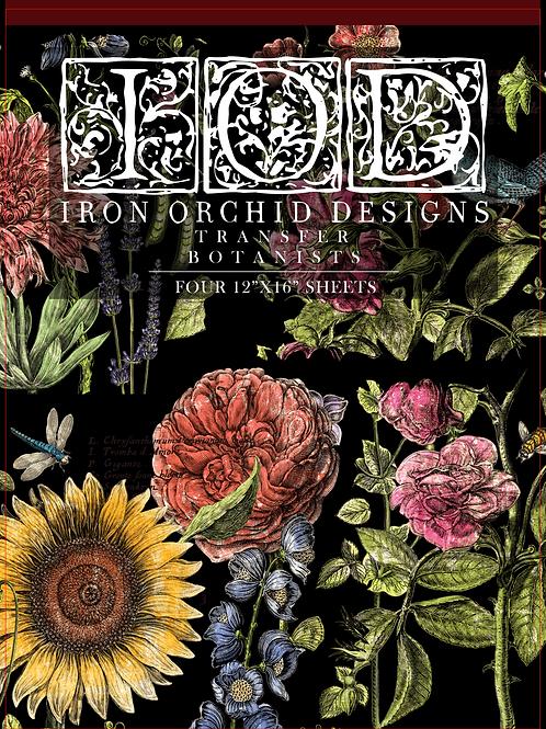 "Botanists Journal New Format 12"" x 16"", IOD Decor Transfer Pad"