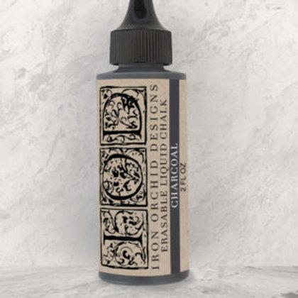 Erasable Chalk Charcoal Ink 2 oz. Bottle