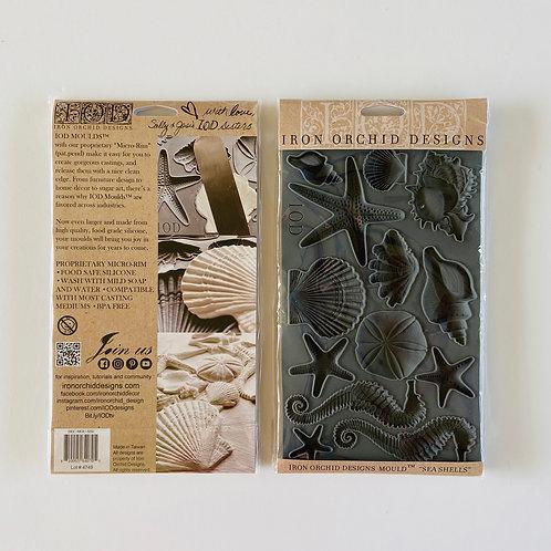 Seashells IOD Decor Mould, 2020