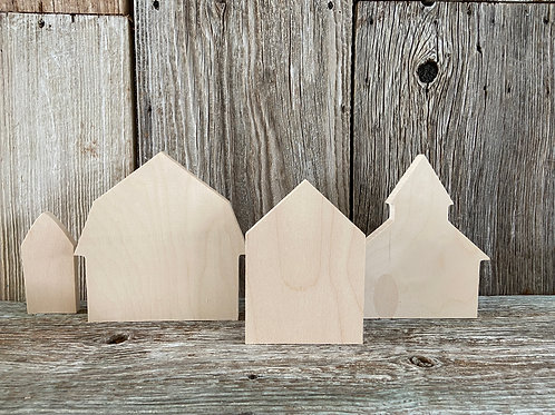 House, Barn & Silo, Church, Country Village,  Made in the USA