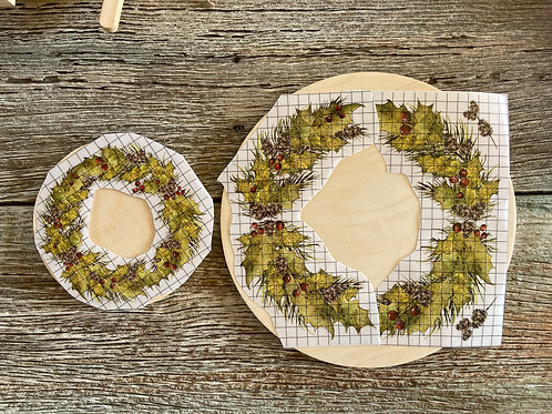12th Day of a Woodland Christmas FB Video Workshop: Tiered Tray Kit
