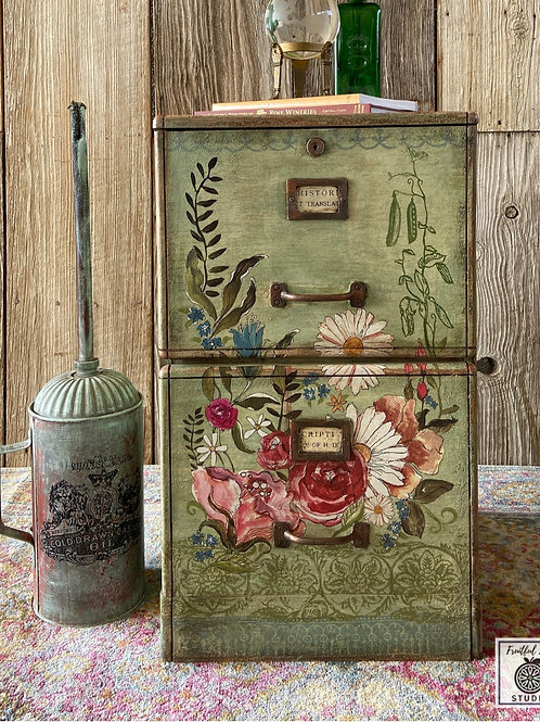 Wanderer's File Cabinet, Rescued & Upcycled