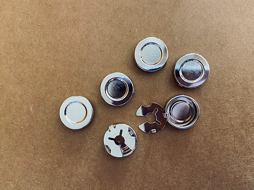 Button Covers Hardware, 18mm