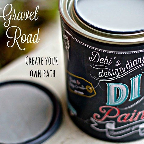 Gravel Road DIY Paint