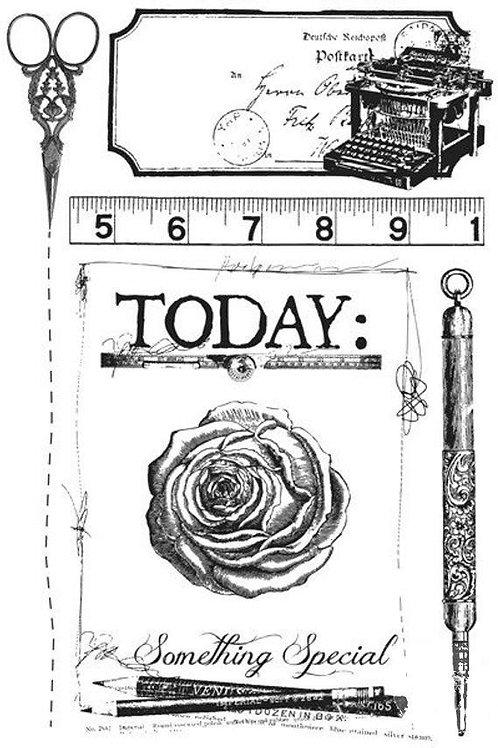 Stationer's Desk Cling Stamp