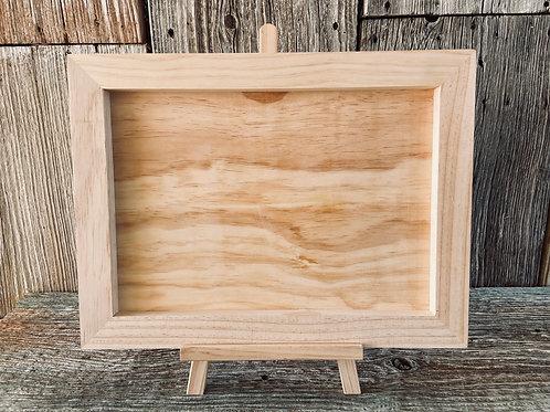 IOD Art Panel, Wood Gallery Board, & Easel Kit