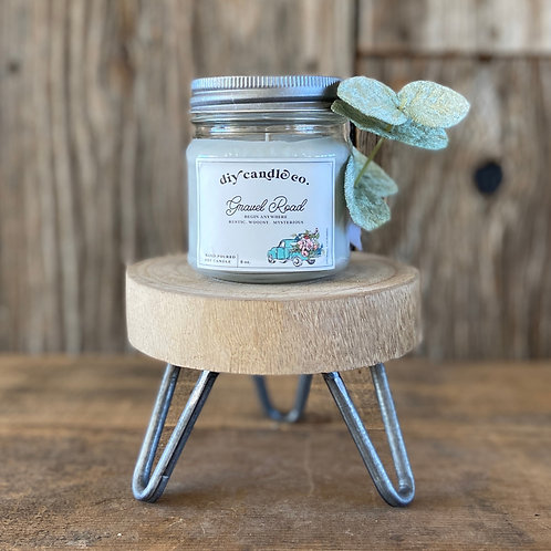 Gravel Road, DIY Candle Co. Hand Poured, Soy Candle